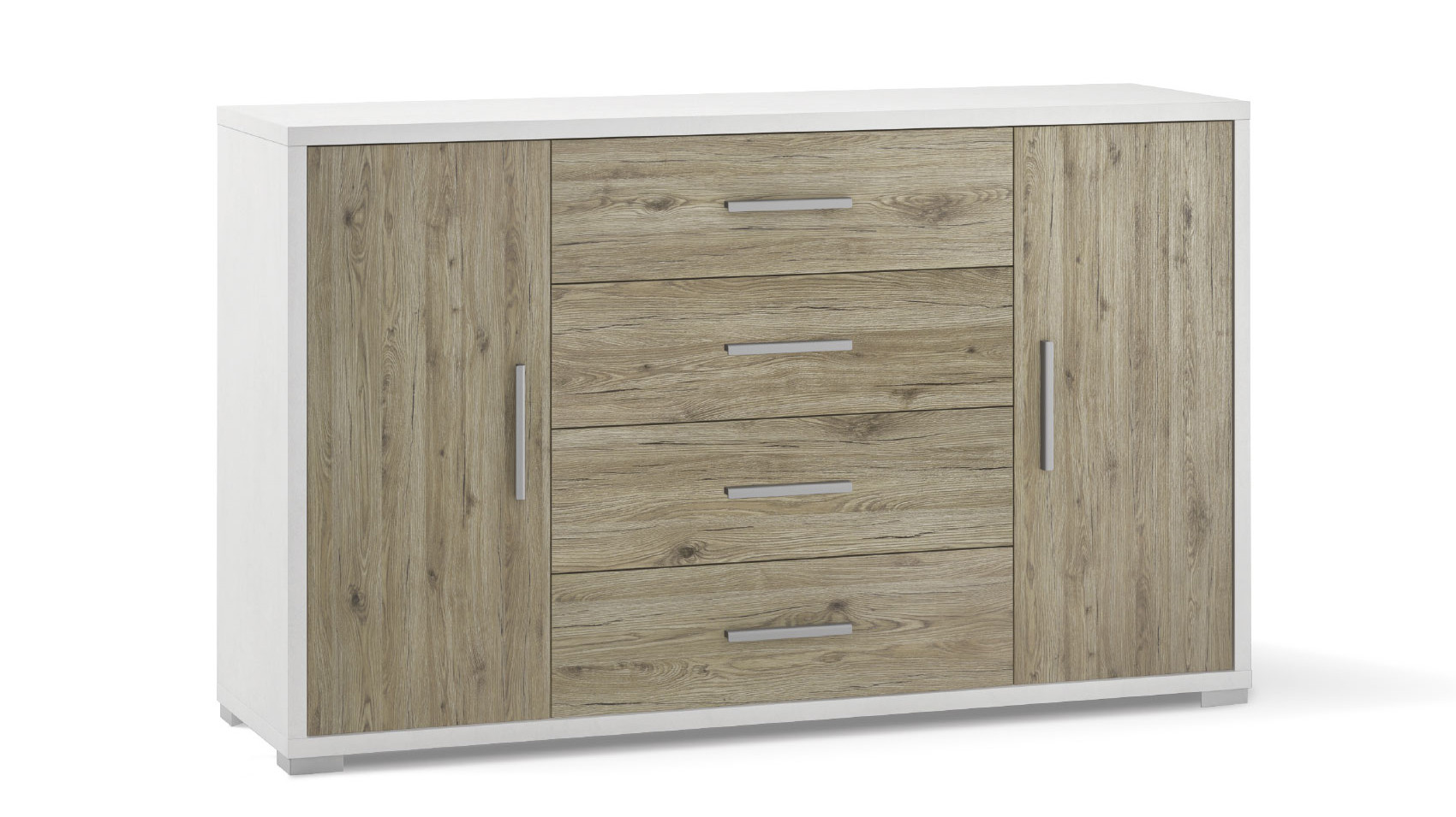 2-door 4-drawer unit - Db875 - Doublé collection