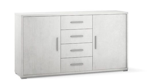 2-door 4-drawer unit - Db879 - Doublé collection