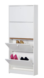 Shoe-rack 4 doors d18 - 184 - Multiuso collection